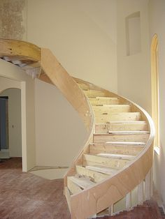 Free-Standing Spiral Stairs