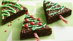 Présentation originale pour un #gâteau #chocolat de #noël