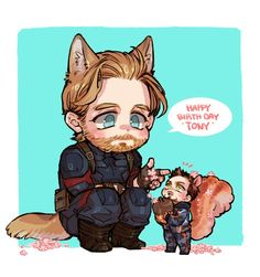 Happy birthday Tony Stark || Stony || Cr: D디