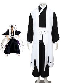 Bleach Zaraki Kenpachi Cosplay Costume