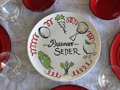 Homemade Passover Seder Plate 7