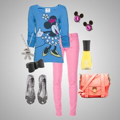 Colorful Disney Inspired., created by uhlecksizz on Polyvore