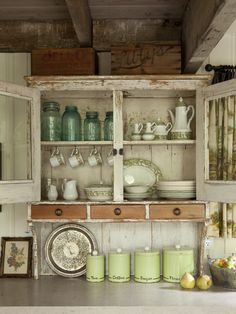 Sweet kitchen cupboard