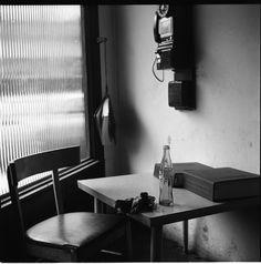Vivian Maier, Interior with Telephone, Winnetka, Ill. - 1968 on ArtStack #vivian-maier #art