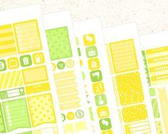 August Printable Planner Sticker set Printable planner Sticker Set August…