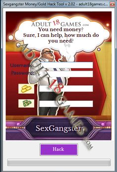 Sex Gangsters Money Gold Hack Tool | adult18games