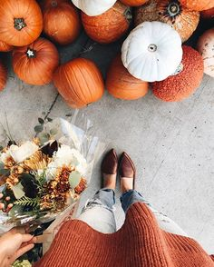 hosting a shower for my beautiful cousin today and getting all the fall things . obsessed with this oversized sweater and it's under $60! || all outfit details linked via @liketoknow.it http://liketk.it/2prdI #liketkit
