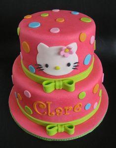 I found 'Hello Kitty Dots Birthday Cake' on Wish, check it out! Hello Kitty Birthday Theme, Birthday Cake For Cat, Hello Kitty Themes, 4th Birthday Cakes, Birthday Ideas, Birthday Parties, Hello Kitty Party Supplies, Torta Hello Kitty, Anniversaire Hello Kitty