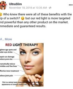 Facial Procedure, Red Light Therapy