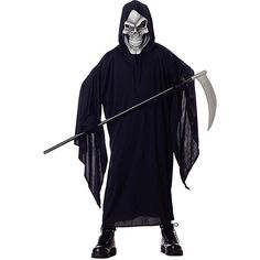 Grim Reaper Costume - Medium *** For more information, visit now : Kids halloween costumes