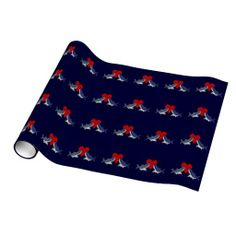 Shark Love Wrapping Paper #shark #love #funny #wrapping #paper And www.zazzle.com/tickleyourfunnybone*