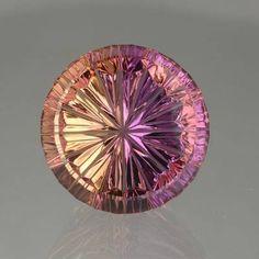 Bolivian Ametrine 17.76cts in a StarBrite™ cut by John Dyer Co. / Mineral Friends ♥