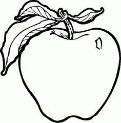 imagini de colorat cu fructe de toamna - Google Search