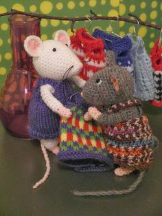 Breimaan: De muisjes gaan shoppen......