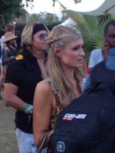 Paris Hilton Coachella 2014