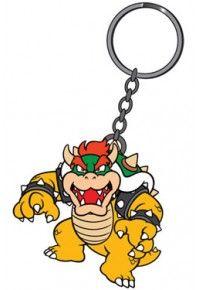 Super Mario Bros. Rubber Keychain Bowser 6 cm
