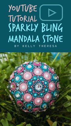 Join me in this super fun tutorial adding rhinestones to your mandala stone! #dotpainting #dotmandalas #painting #dotartwork #handpainted #dotpaintingtutorial #dotpainting101 #mandalatutorial #stepbysteppainting #dotmandalastepbystep #videotutorial #rockpainting #dotpaintingstones #dotmandalarockpainting #youtubetutorial #rockpainting