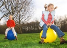 Ever struggle on what to with the therapy balls in your classroom. Here's some great ideas...