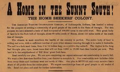 A Home in the Sunny South! (B0045) - Emergence of Advertising in America - Duke Libraries