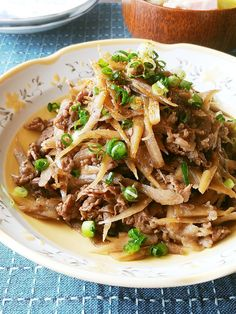 Home Recipes, Asian Recipes, Ethnic Recipes, Hey Good Lookin, Japanese House, Japchae, Food And Drink, Veggies, Beef