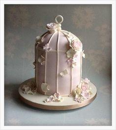 My First Birdcage Cake