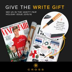 "@VanityFair just picked Cross #Townsend @StarWars C3-PO fountain pen as one of the season's ""hot gifts."""