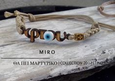 Miro Μαρτυρικό 2017 Φτου-Φτου (Ματάκι). Evil Eye Jewelry, Hamsa, Lovely Things, Crafting, Princess, Bracelets, Baby, Men, Accessories