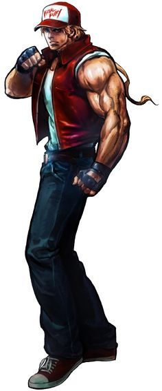 Terry Bogard Render by topdog4815 on DeviantArt