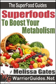 Superfoods to Boost Your Metabolism could assist a person's weight loss goals, in a much safer and healthier way.