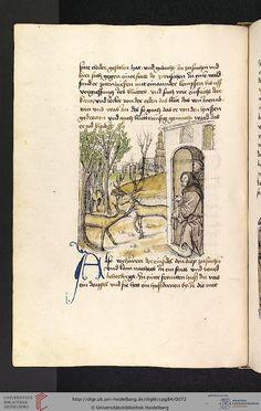 Cod. Pal. germ. 84: Antonius von Pforr: Buch der Beispiele ; Passionsgebet (Schwaben , um 1475/1482), Fol 31v