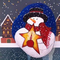 Buralara henüz kar yağmadı ama benim kardanadamlar hazır⭐️✨☺️@#kardanadam #snowmen #taşboyama #stoneart #dekoratifboyama #hediye #gift #colors #instaart #artlovers #likeforlike #instalike #myartwork #photoday #gününkaresi #creativty #bestmade #art