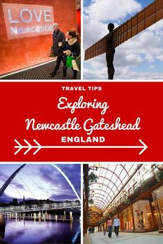 England Travel Inspiration - Exploring Newcastle Gateshead this Festive Period and Beyond.famous for The Angel of the North and a great little Christmas Market. Click the link to read more Newcastle Travel Tips. Gateshead Millennium Bridge, Blaydon Races, Newcastle Gateshead, History Of England, Angel Of The North, North East England, Northern England, Weekend Trips, Exploring