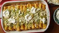 Don't let the one-hour prep time on these enchiladas scare you Use some leftover…
