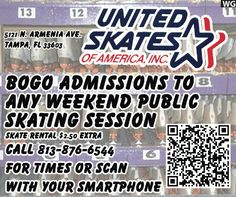 United skates coupons