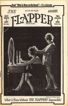 The Flapper.  If I could go back in time, this is SO the time period I would pick!!!