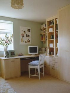 Creative Home Office Decor Ideas to Effeciently Utilize Small Spaces Home Office Design, Home Office Decor, House Design, Office Ideas, Office Designs, Design Design, Cute Teen Rooms, Home Organisation, Organization Ideas