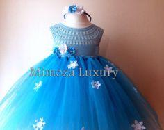Congelado de Tutu la princesa Elsa princesa de por MimozaLuxury