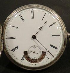 Pocket Watch アンティーク鍵捲きからくり懐中時計 Antique ¥69000yen 〆07月10日