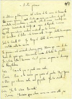 """Acto primero de """"La casa de Bernarda Alba"""", de Federico García Lorca"""
