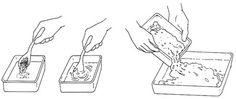 Kankaiden ja papereiden marmorointiohjeet suomeksi How To Dye Fabric, Fabrics, Color, Tejidos, Colour, Cloths, Fabric, Textiles, Colors