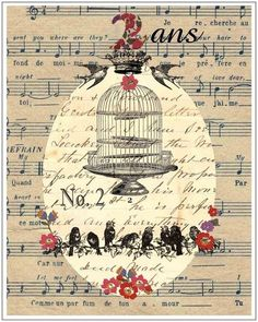 This ones a painting/drawing on sheet music but i still like it. :)