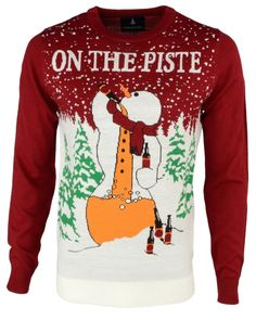 Men's Christmas Jumper By Threadbare Novelty Funny Rude Knitted Xmas Sweater New | eBay