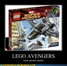 Lego Avengers --- is it bad that I still want this? X)