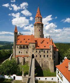 Bouzov Castle, Czech Republic