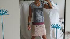 Entdecke lässige und festliche Kleider: Vintage-Kleid `S/M` TausendSchön made by uniKate´s Stoffgeflüster via DaWanda.com
