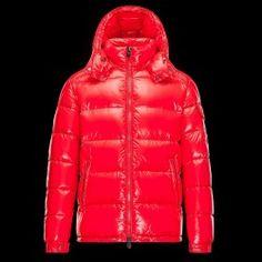 Moncler Mont Erkek Maya Kırmızı