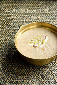 punjabi besan ki kheer recipe, how to make besan ki kheer recipe