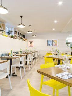 The Canteen on Portland dining room. Dartmouth, Canteen, Menu Restaurant, Nova Scotia, Portland, Dining Room, Table, Furniture, Design