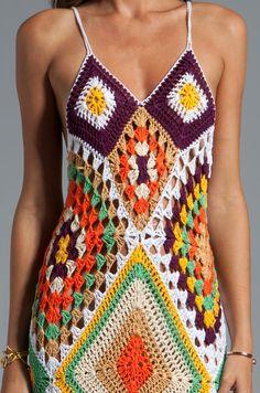 Pretta Crochet: vestido