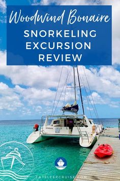Woodwind Bonaire Snorkeling Excursion Review   EatSleepCruise.com. We share all the details of our day spent exploring the coral reefs of Klein Bonaire in our Woodwind Bonaire Snorkeling Excursion Review. #Caribbean #CaribbeanCruise #Bonaire #thingstodo #eatsleepcruise